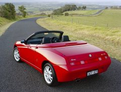 blog Lef - AlfaRomeoSpider2 - Orange Monday