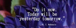 Blog lente - do it now - orange monday