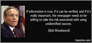 Blog Voorrecht - bob-woodward - Orange Monday