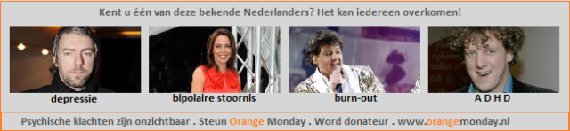 Orange Monday - Banner blog Kika - 4 bekende NLers 3