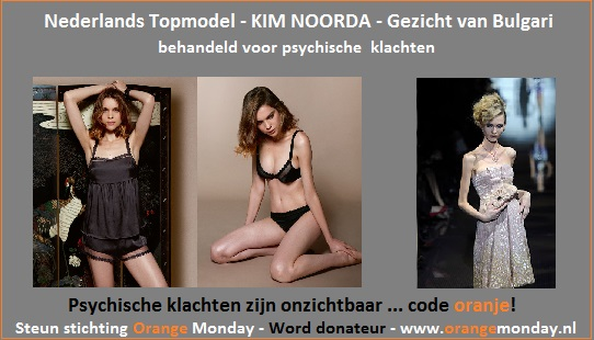 Orange Monday - Banner Blog Kika - Kim Noorda - anorexia 3