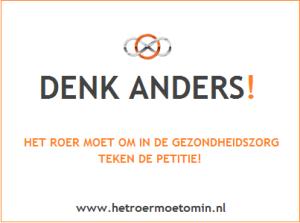 Campagne Denk Anders - HET ROER MOET OM IN DE GEZONDHEIDSZORG